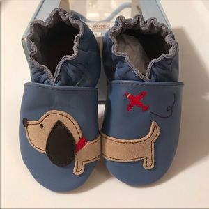 Robeez Dachshund Soft Sole Shoes NIB